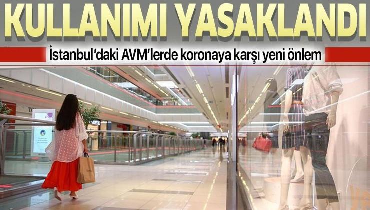 Son dakika: İstanbul'daki AVM'lerde koronavirüse karşı yeni önlemler