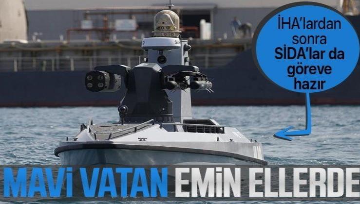 Türkiye'nin ilk Silahlı İnsansız Deniz Aracı (SİDA) füze atışlarına hazır