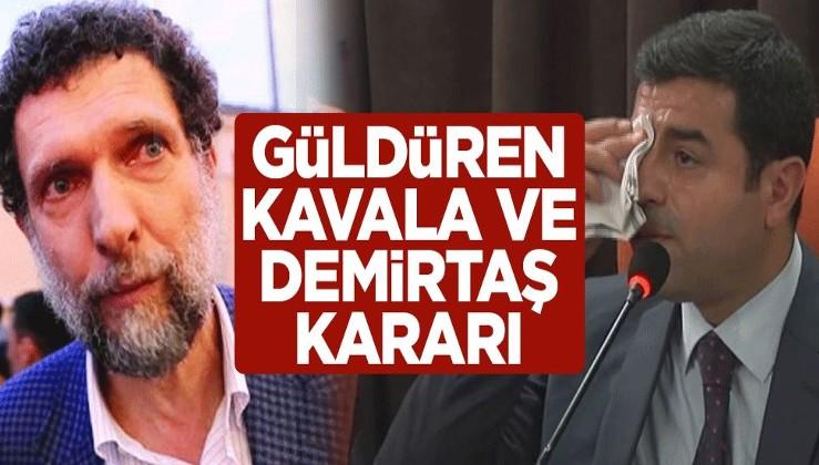 Avrupa Konseyi Bakanlar Komitesi'nden güldüren Osman Kavala ve Selahattin Demirtaş kararı
