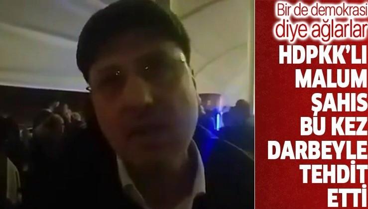 HDPKK'lı Ahmet Şık'tan darbe tehdidi: 2020'yi bitiremeyecekler
