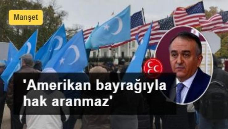 TBMM'de HDPKK kışkırtıcılığına MHP'den tokat gibi yanıt: 'Amerikan bayrağıyla hak aranmaz'