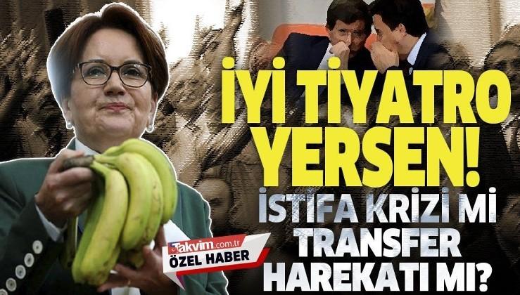 """İYİ Parti'de """"istifa"""" tiyatrosu mu? Kulisleri karıştıracak bomba iddia"""