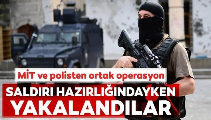 Ramazanı kana bulayacaktı! MİT-polis ortak operasyonu ile yakalandı...