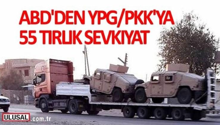 ABD'den terör örgütü YPG/PKK'ya yeni askeri sevkıyatlar
