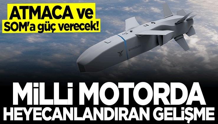 ATMACA ve SOM füzelerine güç verecek... İlk teslimatlar yapıldı