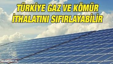 Türkiye gaz ve kömür ithalatını sıfırlayabilir