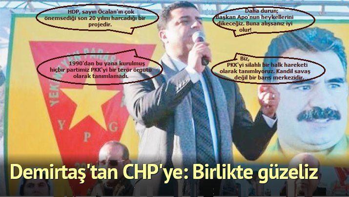 Demirtaş'tan CHP'ye: Birlikte güzeliz
