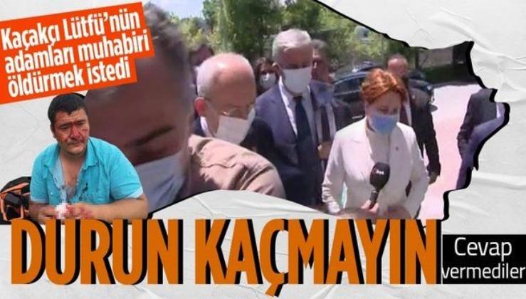 Kemal Kılıçdaroğlu ve Meral Akşener, İHA muhabirinin darp edilmesiyle ilgili soruları yanıtsız bıraktı