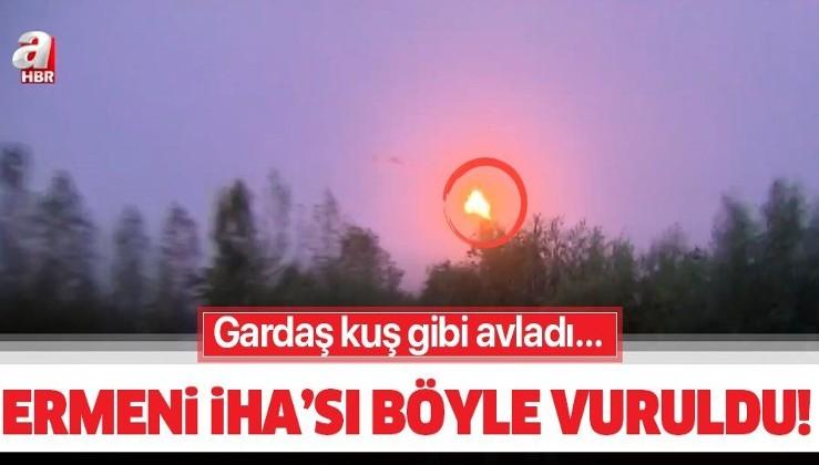 Son dakika: Azerbaycan ordusu Ermenistan'a ait İHA'yı düşürdü!