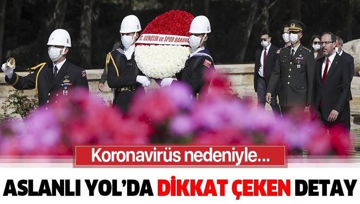 Son dakika: Bakan Kasapoğlu ve beraberindeki heyet 19 Mayıs kutlamaları kapsamında Anıtkabir'i ziyaret etti