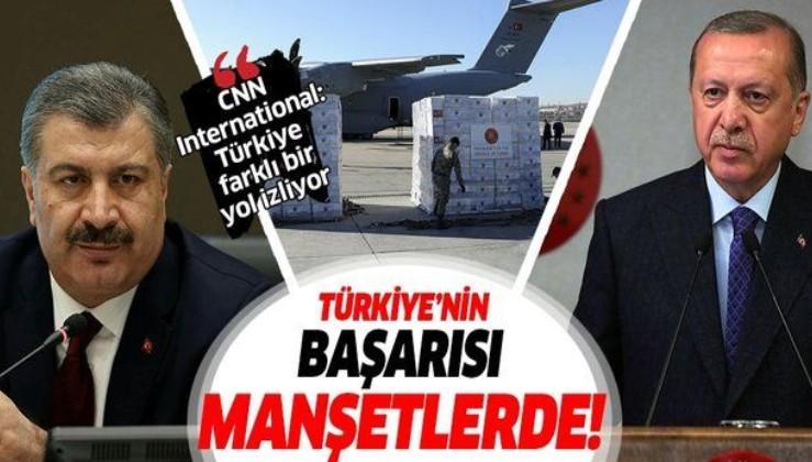 Türkiye'nin koronavirüsle mücadeledeki başarısı dünyaya örnek oldu!