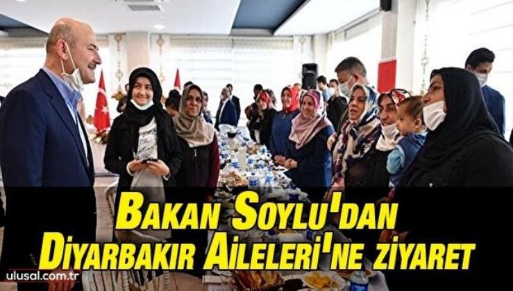 Bakan Soylu'dan Diyarbakır Aileleri'ne ziyaret