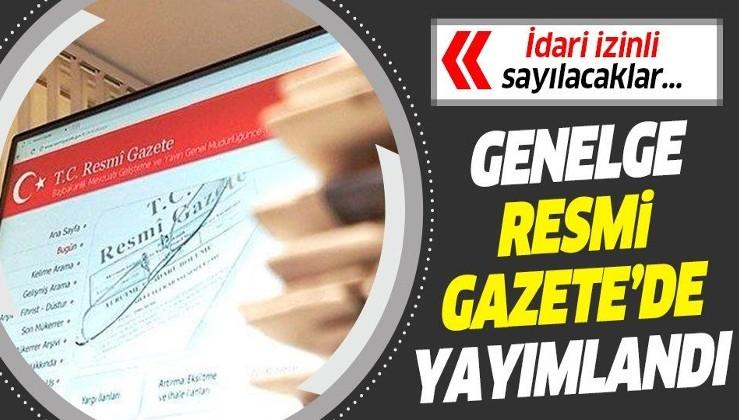 Resmi Gazete'de yayımlandı! Kamuda çalışan 60 yaş ve üzerinde olanlar idari izinli sayılacak