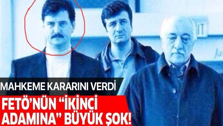 """Son dakika: """"FETÖ'nün ikinci adamı"""" Cevdet Türkyolu'nun iki yakınına hapis cezası."""