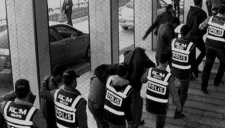 PKK propagandasına 4 gözaltı.