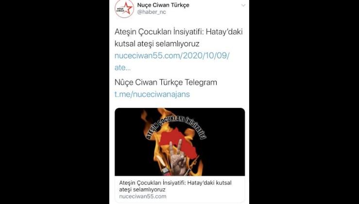 Son çırpınışlarını yaşayan PKK,Türkiye'ye olan nefretini ormanlarımızdan çıkarıyor.