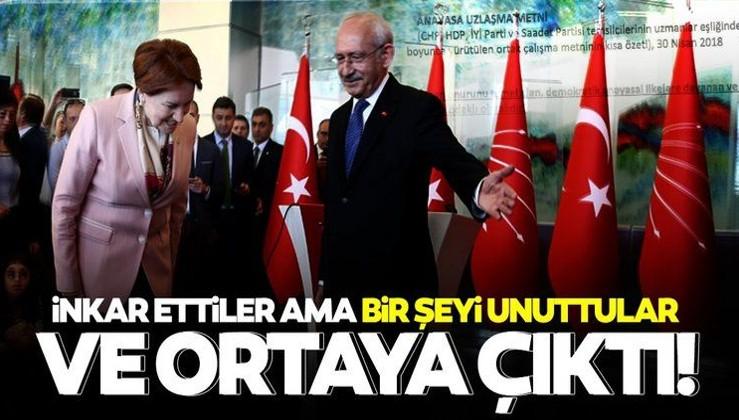 SON DAKİKA... Kılıçdaroğlu ve Akşener inkar etti ama arşivi unuttular! Gerçek arşivden çıktı