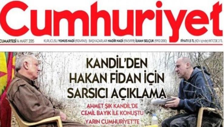Cumhuriyet gazetesinde HDPseverler, liberaller,TARAFçılar ayrılmaya devam ediyor!