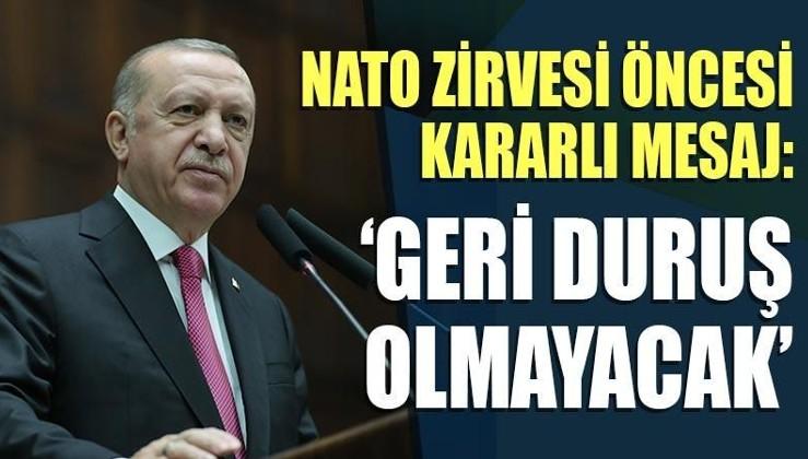NATO zirvesi öncesi kararlı mesaj: 'Geri duruş olmayacak'