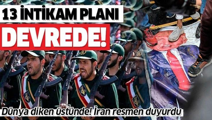 İran resmen duyurdu! ABD için 13 intikam planı hazırlandı.