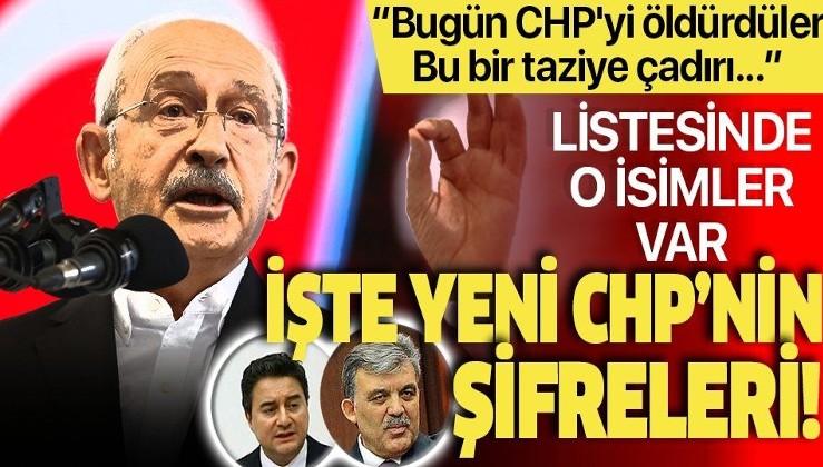 Abdullah Gül ve Ali Babacan'ın YCHP'si oldu
