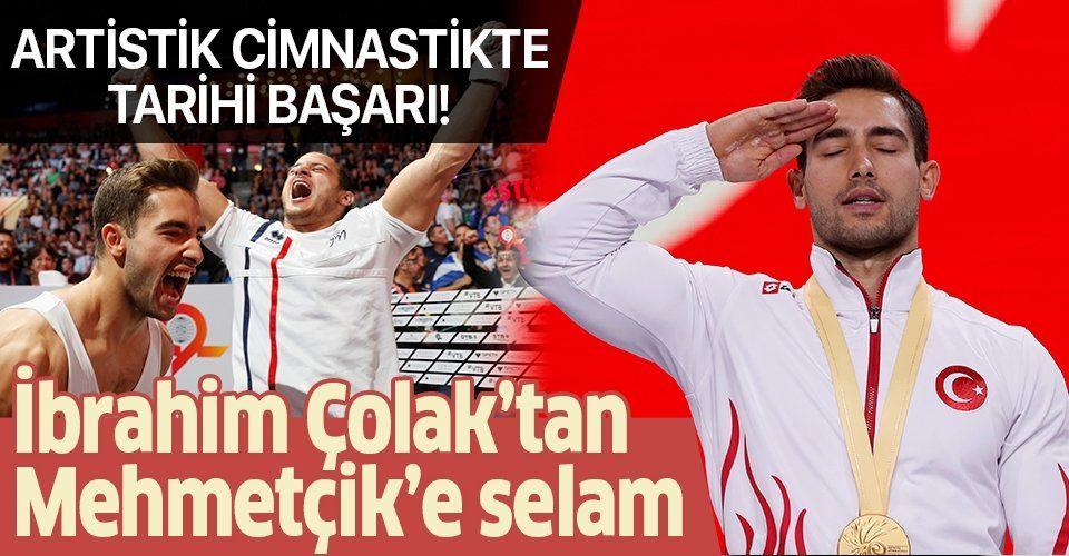 Artistik Cimnastik Dünya Şampiyonası'nda büyük başarı! İbrahim Çolak dünya şampiyonu oldu.