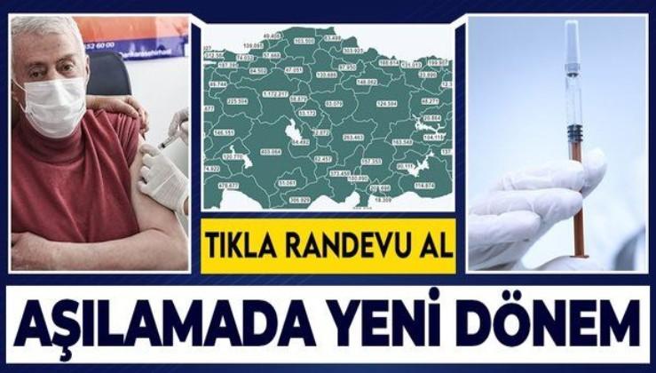 Türkiye aşılamada 2. aşamanın 2. grubuna geçti! 60 yaş üstünün aşılanması başladı