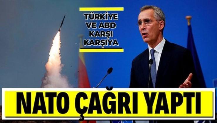 NATO, yaptırımla gerilen Türkiye ve ABD'ye çağrı yaptı: Çözüm yollarını arayın