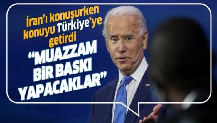 ABD Başkanı seçilen Biden'dan dikkat çeken 'Türkiye' açıklaması!