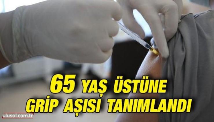 Bakan Koca duyurdu: 65 yaş üstüne grip aşısı tanımlandı