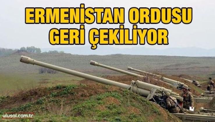 Ermenistan ordusu geri çekiliyor