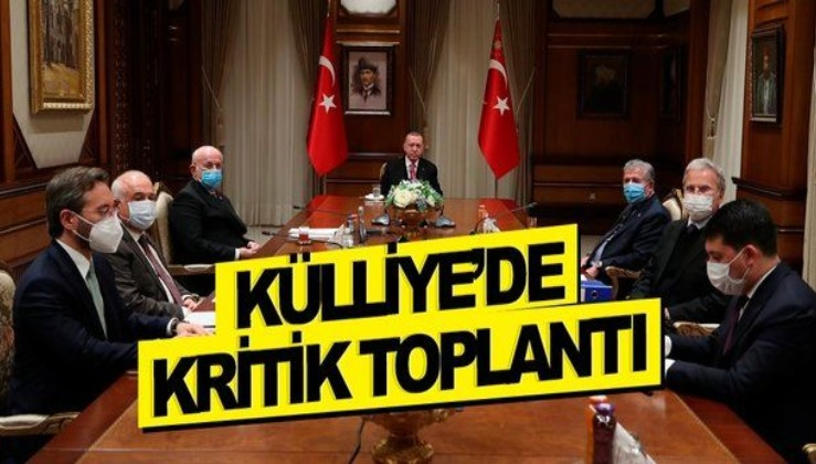 Son dakika: Cumhurbaşkanlığı Yüksek İstişare Kurulu Başkan Erdoğan liderliğinde toplandı