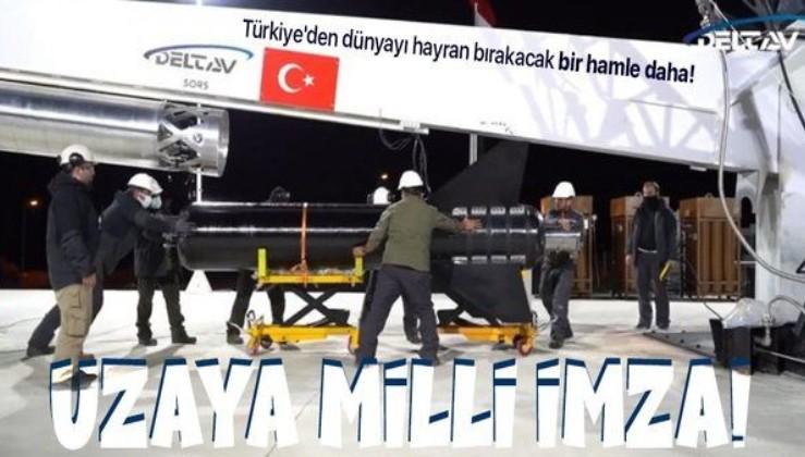 Türkiye'den dünyayı hayran bırakacak bir hamle daha! Artık uzay sondaları da milli!