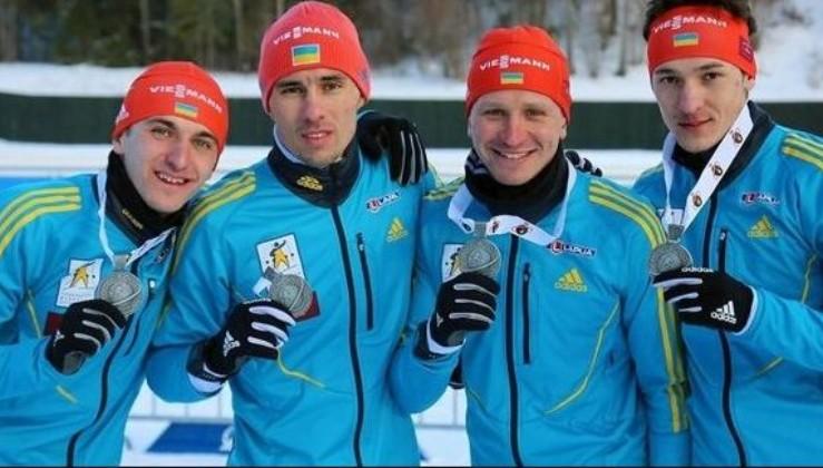 У росіян через допінг відібрали золоті медалі Чемпіонату Європи і вручили українським біатлоністам!