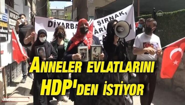 Anneler evlatlarını HDP'den istiyor