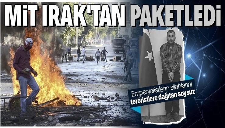 MİT'in Irak'ta paketlediği terör örgütü PKK'nın sözde lojistik sorumlusu İbrahim Parım Türkiye'ye getirildi