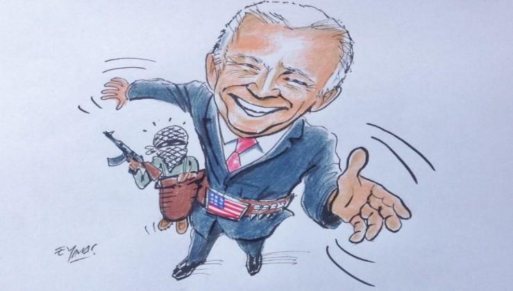 Usta Çizer, Joe Biden'ı böyle çizmişti