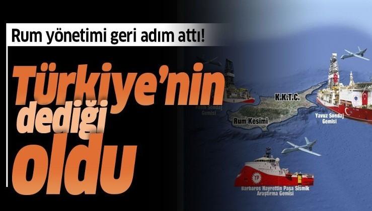 Rum yönetimi geri adım attı! Flaş Türkiye açıklaması.