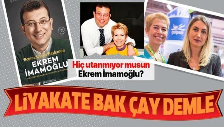 """""""Ekrem İmamoğlu Benim Sevgili Başkanım"""" başlıklı kitap yazdı, İBB'de yönetici oldu"""
