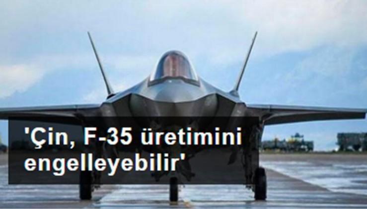 Rus uzmandan 'Çin, F-35 üretimini engelleyebilir' yorumu