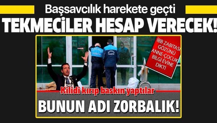Şehit Savcı Mehmet Selim Kiraz Bilgi Evi'nin kapılarını tekmeleyen İBB zabıtası ve yönetimi hakkında soruşturma başlatıldı!