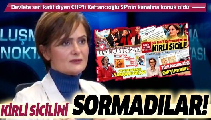 SON DAKİKA: Atatürk düşmanı CHP'li Canan Kaftancıoğlu'na SP'nin kanalı TV5'te skandallarını sormadılar!