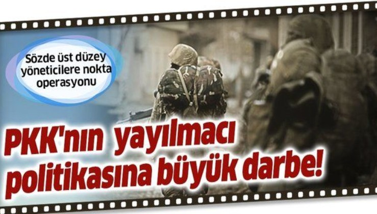 TSK'dan PKK'nın Irak'taki yayılmacı politikasına büyük darbe! Sözde üst düzey yöneticilere nokta operasyonu.