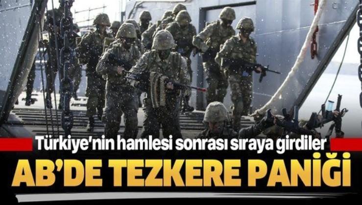 Türkiye'nin Libya hamlesi sonrası AB ülkeleri sıraya girdi.