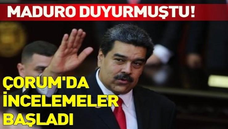 Venezuela Devlet Başkanı Maduro'nun yardımcısı Çorum'a geldi.