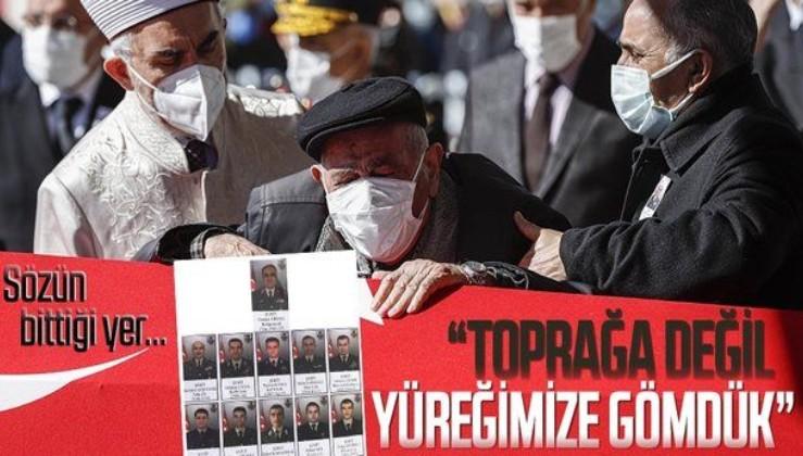Bitlis şehitleri için duygulandıran paylaşım: Sizi Toprağa Değil, Yüreğimize Gömdük...