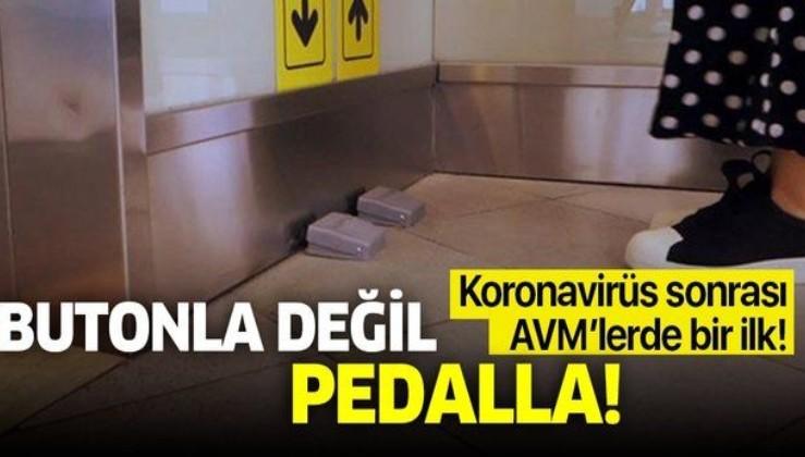 Son dakika: AVM'lerde bir ilk! Asansörler artık böyle çağrılacak!