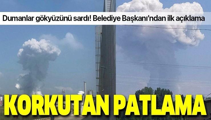 Son dakika: Sakarya'da 3 şiddetli patlama!