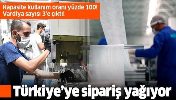 Türkiye'ye sipariş yağıyor: Vardiya sayısı 3'e çıktı!