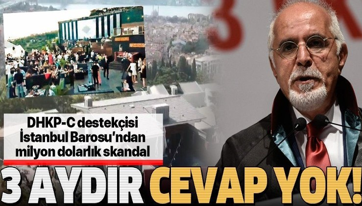 SON DAKİKA: İstanbul Barosu'nun 5.5 milyon dolarlık 'gece kulübü' skandalına 3 aydır cevap yok!